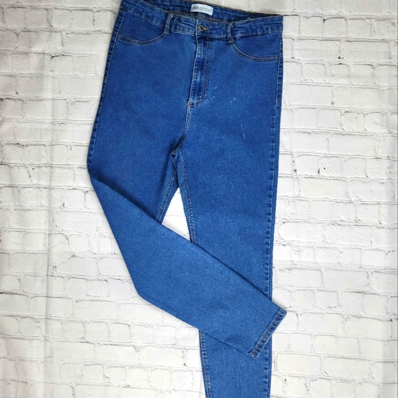 Zara Join Life, ecologically grown cotton skinny jeans